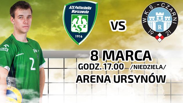 Wygraj bilety na mecz AZS Politechnika Warszawska vs. Cerrad Czarni Radom!